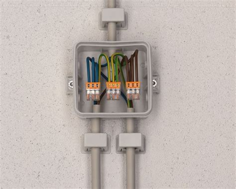 Boitier électrique raccordement avec wago | Boitier electrique, Renovation electrique, Câblage ...