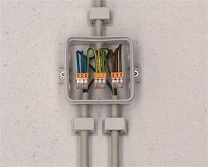 Boite De Derivation Electrique : boitier lectrique raccordement avec wago electricit ~ Dailycaller-alerts.com Idées de Décoration