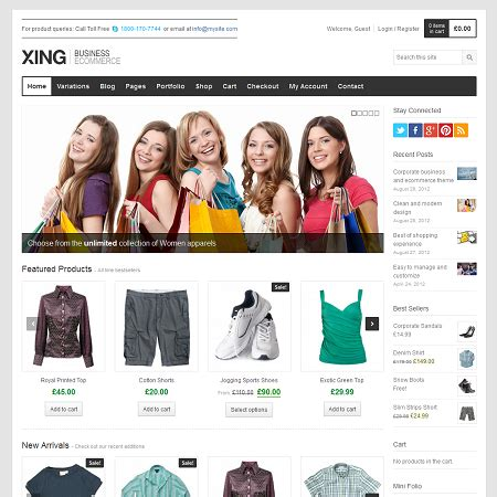 xing  commerce wordpress theme wpexplorer