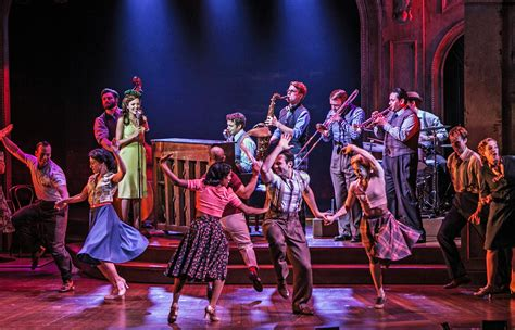 the musical the bandstand at paper mill playhouse a world premiere