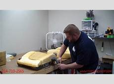 Restoring your foam cushion using a steamer YouTube
