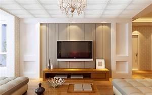 tv wall interior - Design Decoration