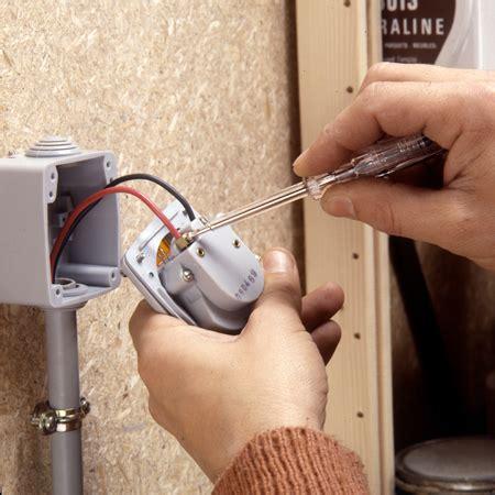 installer un interrupteur temporis 233 233 tanche maisonbrico