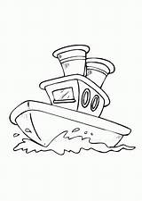 Boat Coloring Pages Fishing Row Printable Popular Getcoloringpages sketch template