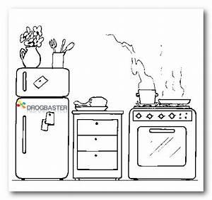 Disegni da colorare di oggetti per cucina fare di una mosca for Disegni di cucina