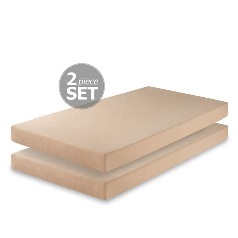 Foam Mattress Set by Zinus Memory Foam 5 Inch Mattress Set Of 2 Why To