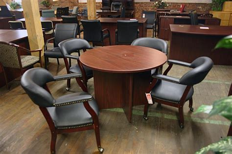 compel conference table and captains chairs