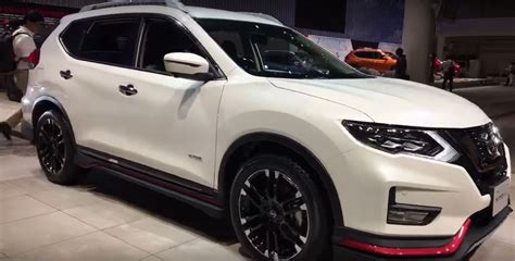 nissan japan nissan rogue gets nismo body kit in japan during x trail