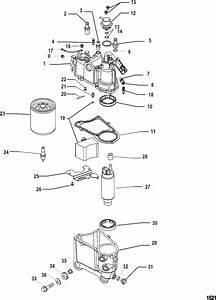 Mercury Mariner Racing 225x Efi Pro Max Vapor Separator