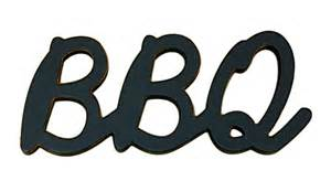 stores with gift registry bbq word decor