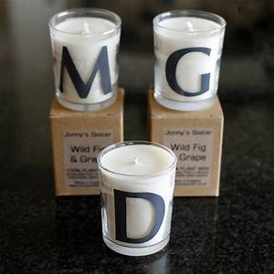 personalised letter candles by jonny39s sister With letter candles
