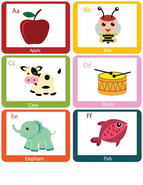 Alphabet Flash Cards A Through F Kidspressmagazinecom
