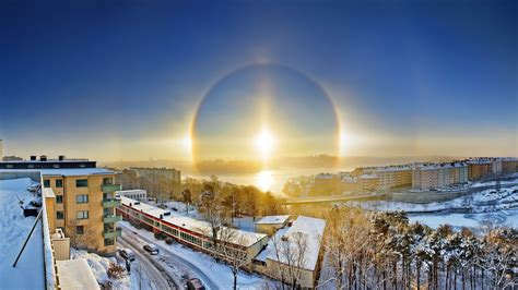 winter snow stockholm sweden landscape photography hd