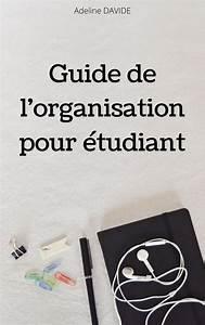 Mon Livre   Guide De L U2019organisation Pour  U00e9tudiant En 2020