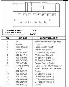 2004 Ford F250 Radio Wiring Diagram