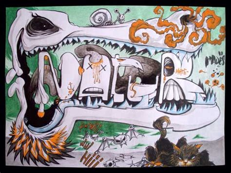 tableaux cuisine illustration dessin graffiti bd animé