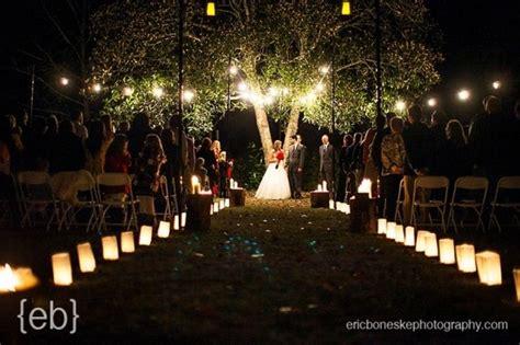 Night Wedding Ceremony Ideas
