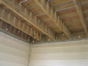 deck joist blocking bridging internachi inspection forum