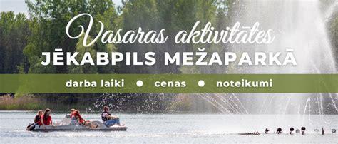 Vasaras aktivitātes Jēkabpils Mežaparkā
