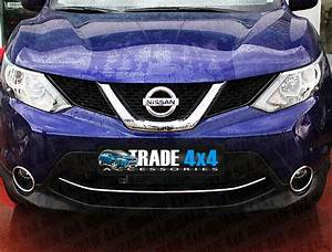 Nissan Qashqai 2014 Front Bumper Streamer Lower Trim