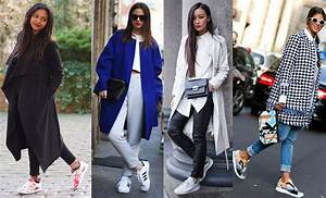 tendance mode la basket blanche plebiscitee pictures to With la mode tendance