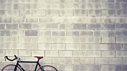 Walls Wall Brick Wallpapers Bike Against Pixelstalk