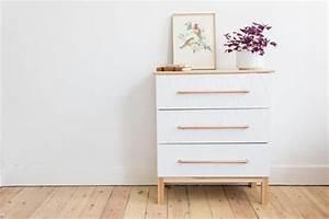 Ikea Commode Blanche : transformer un meuble ikea la commode malm ~ Teatrodelosmanantiales.com Idées de Décoration