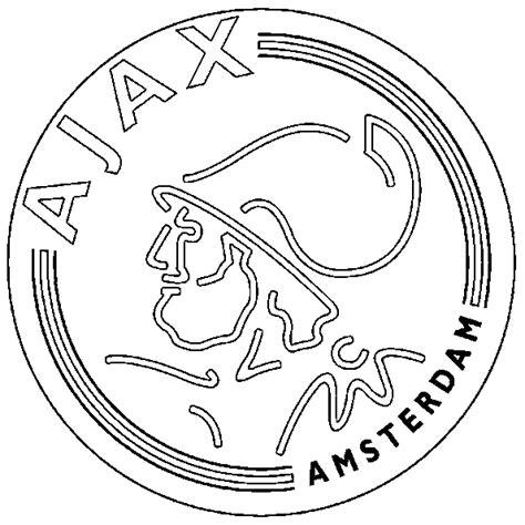 Kleurplaat Logo by Eredivisie Logo Kleurplaten Ajax
