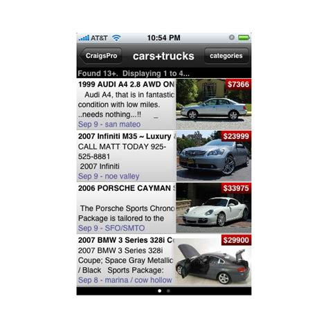 iphone craigslist best iphone apps for craigslist