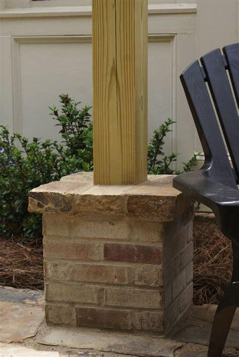 picture  pergolas  patio block brick column