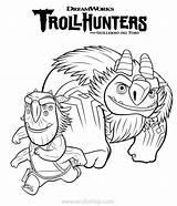 Trollhunters Blinky Aaarrrgghh Xcolorings 152k 1097px sketch template