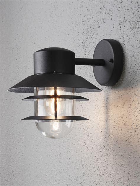 konstsmide modena ip44 1 light outdoor wall light matt