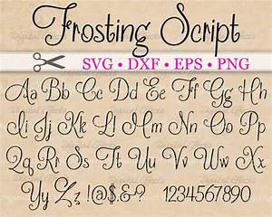 FROSTING Script SVG, Handwriting Font, Retro Script ...