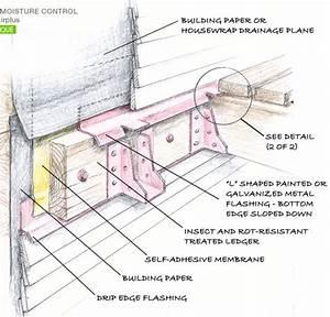 Awesome Deck Flashing Diagram