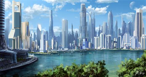 100 imaginative quot cities of the future quot artworks hongkiat