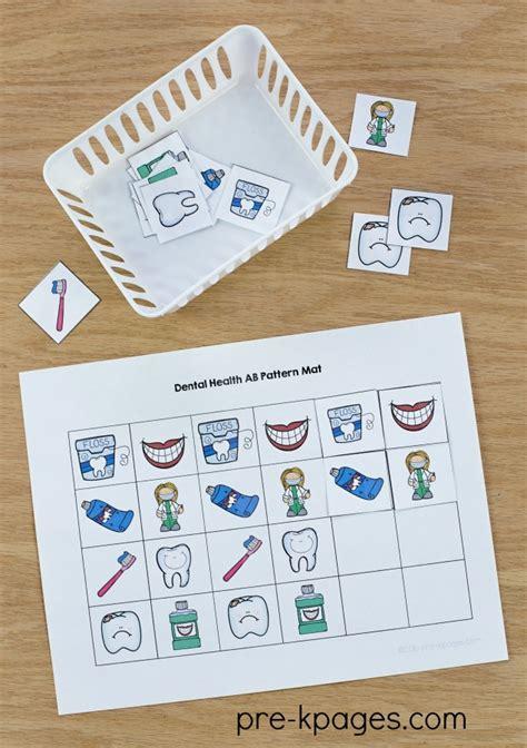dental health theme activities for preschool 468 | Dental Health Patterns