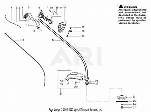Poulan Pp033 Gas Trimmer  033 Gas Trimmer Parts Diagram