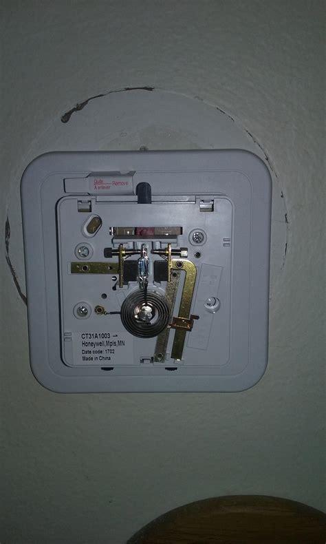 honeywell ct31a1003 wiring diagram honeywell thermostat