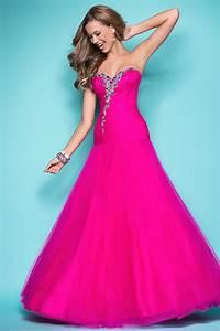 Beaded Sweetehart Hot Pink Prom Dress | Prom Dresses ...
