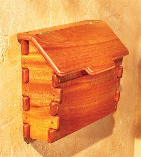 greene  greene mailbox popular woodworking magazine