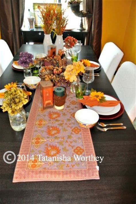 how to decorate a table for fall fall table decor ideas