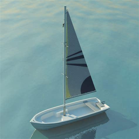 Sailboat Small by Small Sailboat 3d Models Cgtrader