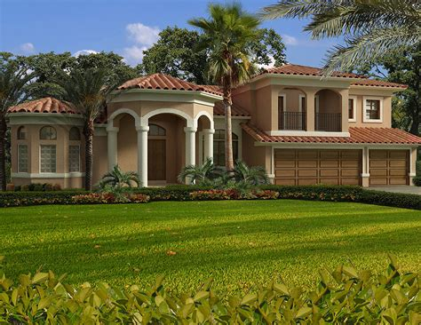 mediterranean homes plans luxury mediterranean house plan 32198aa architectural