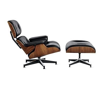 eames 174 lounge and ottoman design within reach