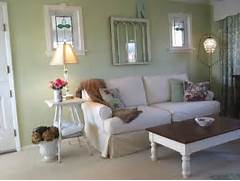 Photos Of Living Rooms With Green Walls by Fresh Charming Green White Cottage Magpie
