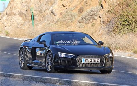 Spyshots 2019 Audi R8 Gt Flaunts Two Huge Oval Exhaust