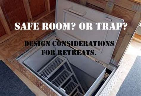 Safe Room? Or Trap? Design Considerations For Retreats 3 Foot Bench Cushion Weight Ottawa Wholesale Benches Olympic Bar And Press Pics Homemade Wood Life Girl On