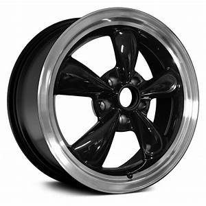 "Replace® ALY03128U45 - Ford Mustang 1999 17"" Remanufactured Black Factory Alloy Wheel"