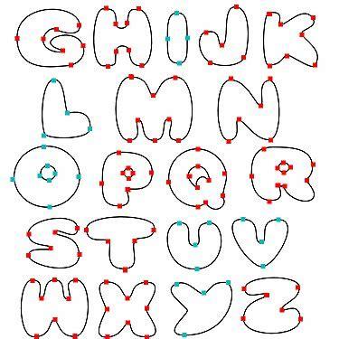 bubble letters zimbio
