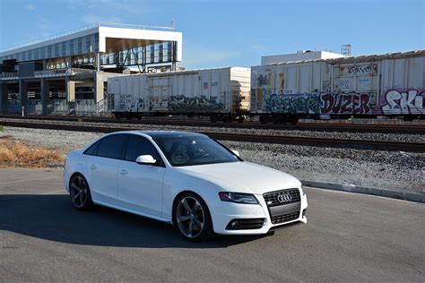 slammed audi s4 lowered b8 audi s4 h r sport springs 034motorsport